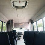 Ford E450 25 passenger charter shuttle coach bus for sale - Gas 9