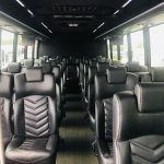 Ford F550 28 passenger charter shuttle coach bus for sale - Gas 9