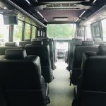 Ford F550 28 passenger charter shuttle coach bus for sale - Gas 10