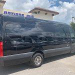 Mercedes 3500 14 passenger charter shuttle coach bus for sale - Diesel 5