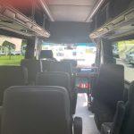 Mercedes 3500 14 passenger charter shuttle coach bus for sale - Diesel 7