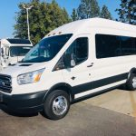 Ford Transit 8 passenger charter shuttle coach bus for sale - Gas 1