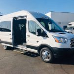 Ford Transit 8 passenger charter shuttle coach bus for sale - Gas 3