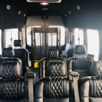Ford Transit 8 passenger charter shuttle coach bus for sale - Gas 5