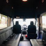 Ford Transit 350 HD XLT 13 passenger charter shuttle coach bus for sale - Gas 7