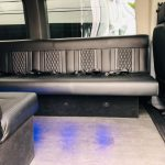 Ford Transit 350 HD XLT 13 passenger charter shuttle coach bus for sale - Gas 8
