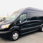Ford Transit 350 HD XLT 13 passenger charter shuttle coach bus for sale - Gas 2