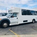 Ford F550 32 passenger charter shuttle coach bus for sale - Gas 4