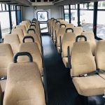 Ford F550 32 passenger charter shuttle coach bus for sale - Gas 6
