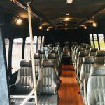 Ford F550 30 passenger charter shuttle coach bus for sale - Diesel 6