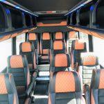 Mercedes 16 passenger charter shuttle coach bus for sale - Diesel 6