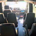Mercedes 16 passenger charter shuttle coach bus for sale - Diesel 7