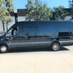 Mercedes 16 passenger charter shuttle coach bus for sale - Diesel 2