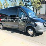 Mercedes 16 passenger charter shuttle coach bus for sale - Diesel 1