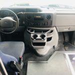 Ford E450 25 passenger charter shuttle coach bus for sale - Gas 10