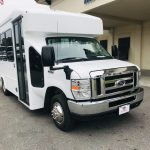 Ford E350 14 passenger charter shuttle coach bus for sale - Gas 1