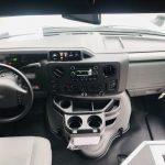 Ford E350 14 passenger charter shuttle coach bus for sale - Gas 8