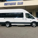 Ford Transit 350HD 13 passenger charter shuttle coach bus for sale - Gas 2