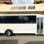 Ford F550 33 passenger charter shuttle coach bus for sale - Gas 2