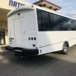 Ford F550 33 passenger charter shuttle coach bus for sale - Gas 4