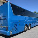 Van Hool 58 passenger charter shuttle coach bus for sale - Diesel 5