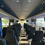 Van Hool 58 passenger charter shuttle coach bus for sale - Diesel 16
