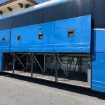 Van Hool 58 passenger charter shuttle coach bus for sale - Diesel 12