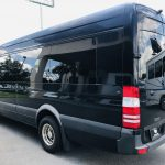 MERCEDES BENZ 16 passenger charter shuttle coach bus for sale - Diesel 7