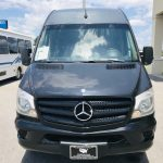 MERCEDES BENZ 16 passenger charter shuttle coach bus for sale - Diesel 10