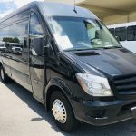 MERCEDES BENZ 16 passenger charter shuttle coach bus for sale - Diesel 11