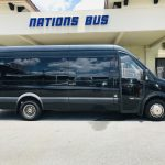 MERCEDES BENZ 16 passenger charter shuttle coach bus for sale - Diesel 2