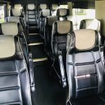 MERCEDES BENZ 16 passenger charter shuttle coach bus for sale - Diesel 13