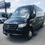 Mercedes 16 passenger charter shuttle coach bus for sale - Diesel 5