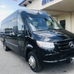 Mercedes 16 passenger charter shuttle coach bus for sale - Diesel 1