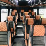 Mercedes 16 passenger charter shuttle coach bus for sale - Diesel 7