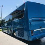 Van Hool 58 passenger charter shuttle coach bus for sale - Diesel 8