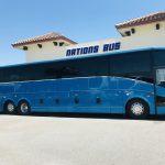 Van Hool 58 passenger charter shuttle coach bus for sale - Diesel 2