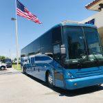 Van Hool 58 passenger charter shuttle coach bus for sale - Diesel 1