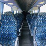 Van Hool 58 passenger charter shuttle coach bus for sale - Diesel 13