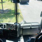 Van Hool 58 passenger charter shuttle coach bus for sale - Diesel 17