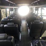 Freightliner 38 passenger charter shuttle coach bus for sale - Diesel 9