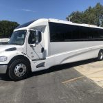 Freightliner 38 passenger charter shuttle coach bus for sale - Diesel 6