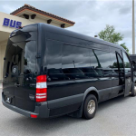 MERCEDES BENZ 16 passenger charter shuttle coach bus for sale - Diesel 3