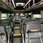 MERCEDES BENZ 16 passenger charter shuttle coach bus for sale - Diesel 12