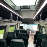 MERCEDES BENZ 16 passenger charter shuttle coach bus for sale - Diesel 14