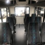 Ford Transit 3500 9 passenger charter shuttle coach bus for sale - Gas 7