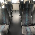 Ford Transit 3500 9 passenger charter shuttle coach bus for sale - Gas 8