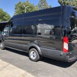Ford Transit 350 HD XLT  8 passenger charter shuttle coach bus for sale - Gas 5