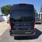 Ford Transit 350 HD XLT  8 passenger charter shuttle coach bus for sale - Gas 6