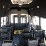 Ford Transit 350 HD XLT  8 passenger charter shuttle coach bus for sale - Gas 12